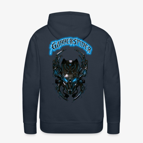 Gabberspider blue - Men's Premium Hoodie