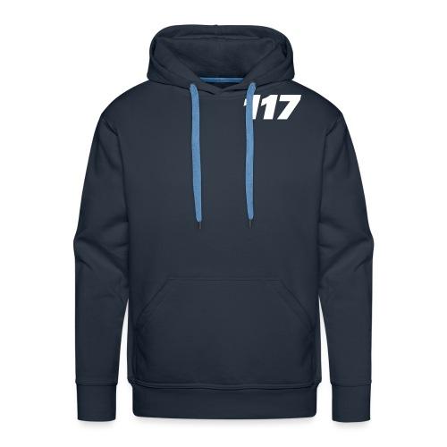 117-W-SVG - Premium hettegenser for menn