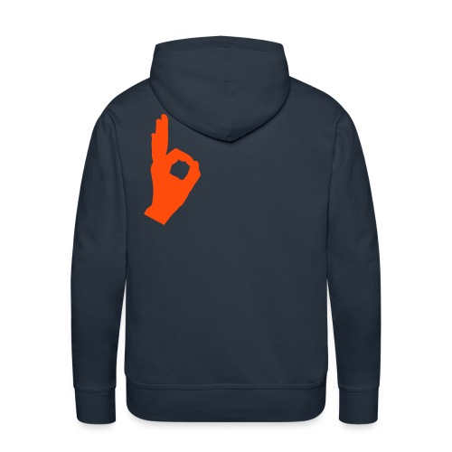 ok - Sweat-shirt à capuche Premium pour hommes