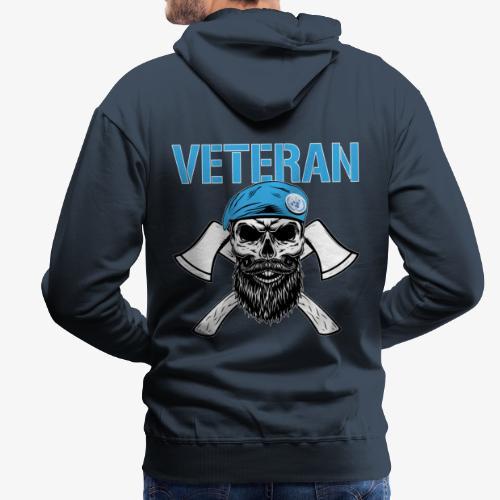 FN-veteran - Korslagda yxor - Premiumluvtröja herr