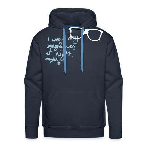 Sonnenbrille - Männer Premium Hoodie