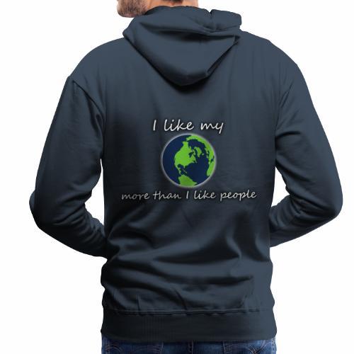 Terre PLANET CRYM planetcontest - Sweat-shirt à capuche Premium pour hommes