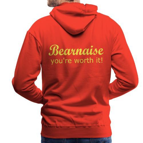 Bearnaise - you're worth it! - Men's Premium Hoodie