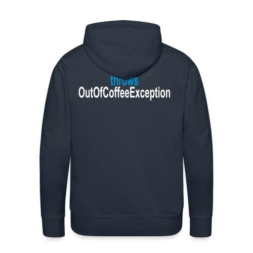 Java Kaffee - Männer Premium Hoodie