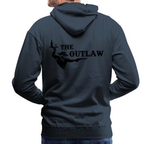 outlaw saloon - Sweat-shirt à capuche Premium pour hommes