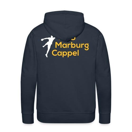 HSG weiß gelb - Männer Premium Hoodie