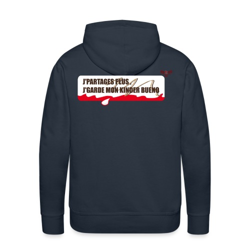 Bueno - Sweat-shirt à capuche Premium pour hommes