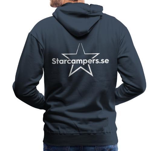 Starcampers centrerad logo - Premiumluvtröja herr