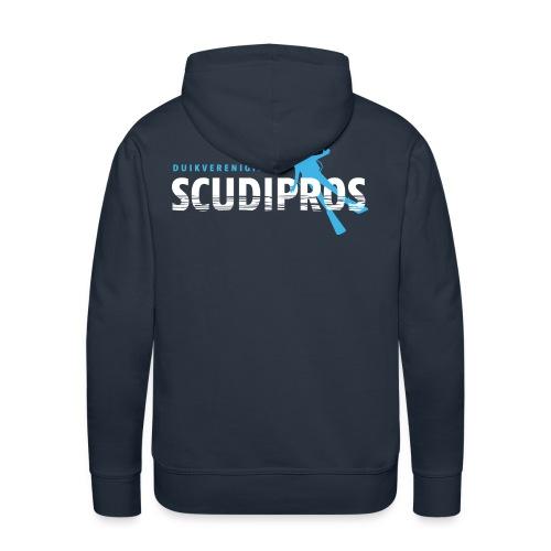 SDP Wit Lichtblauw ZA - Mannen Premium hoodie