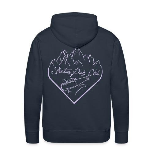logo1 - Sweat-shirt à capuche Premium pour hommes