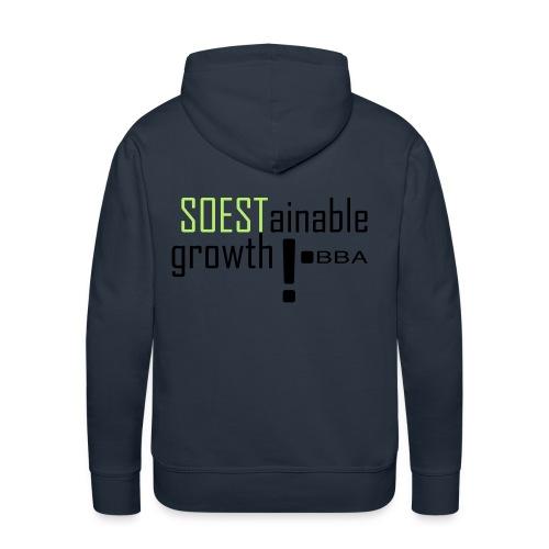 SOESTainable growth - Men's Premium Hoodie