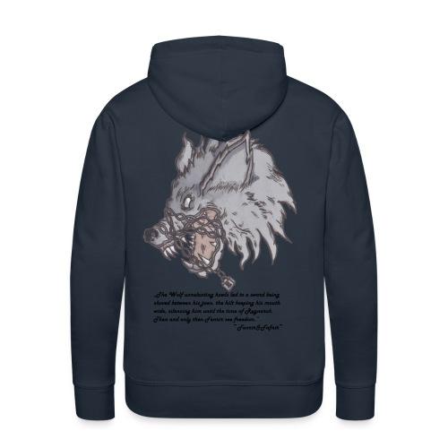 Fenrir Wolf - Männer Premium Hoodie