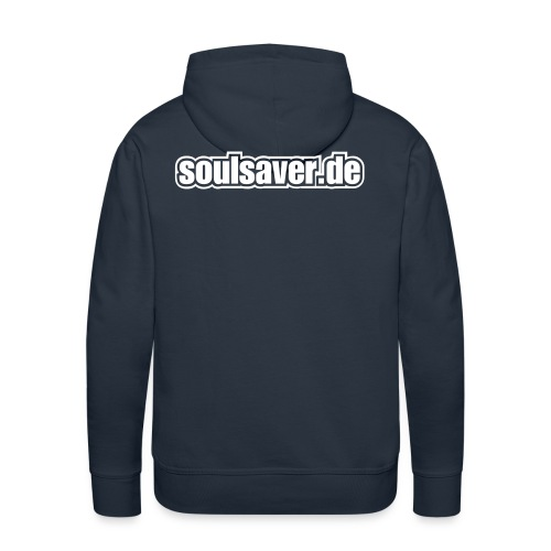 soulsaverlogo blackonly - Männer Premium Hoodie