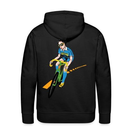 The Bicycle Girl - Männer Premium Hoodie