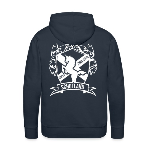 zoka 2019 - Mannen Premium hoodie