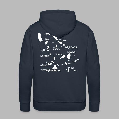 Kykladen Griechenland Crewshirt - Männer Premium Hoodie