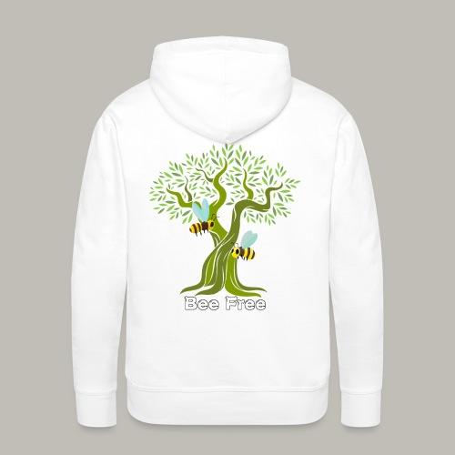 Bee Free - Sweat-shirt à capuche Premium pour hommes