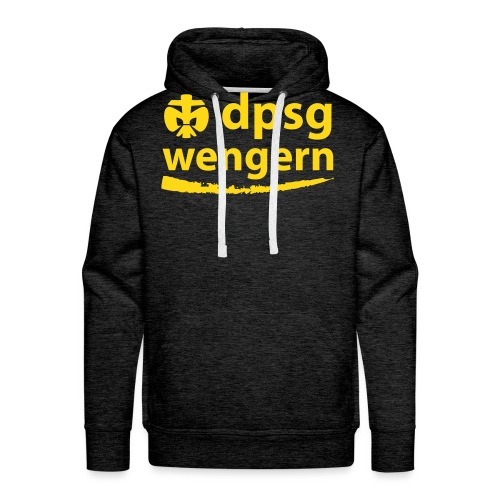 DPSG Wengern Front - Männer Premium Hoodie