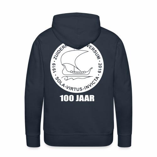 navy zuiderkruis - Mannen Premium hoodie