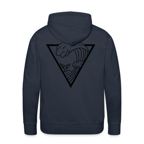 WAVE TRIANGLE - Men's Premium Hoodie