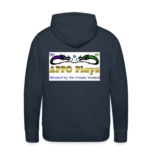 Appo Plays Dragon King - Men's Premium Hoodie