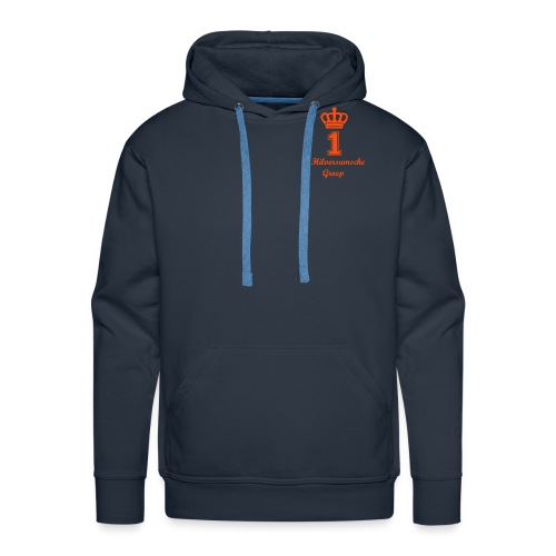 1e Hilversumsche Groep - Mannen Premium hoodie