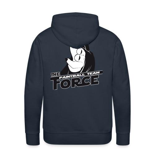 theforce - Sweat-shirt à capuche Premium pour hommes