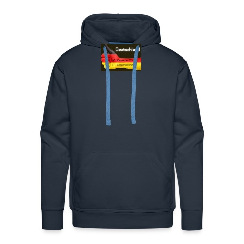 2016 Deutschland Flagge Europameister Weltmeister - Männer Premium Hoodie