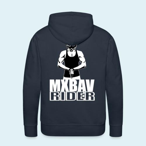 Bavrider Logo Oben - Männer Premium Hoodie