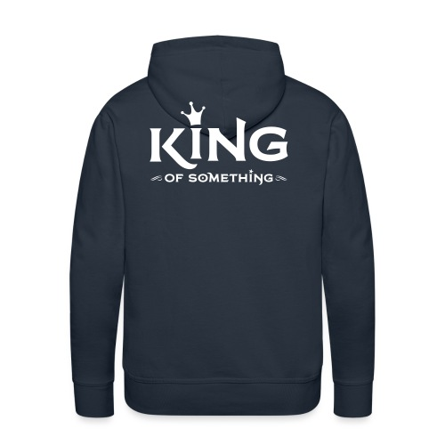 KING (of something) - Mannen Premium hoodie