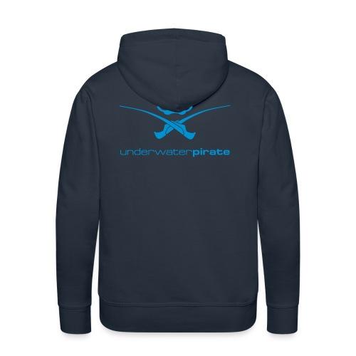 Unterwasser Pirat - Männer Premium Hoodie