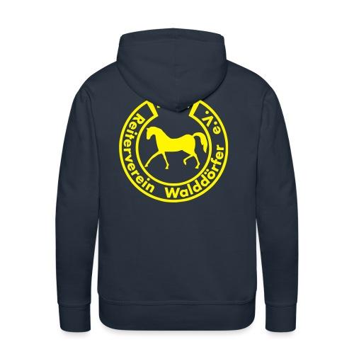 RVW Logo gelb - Männer Premium Hoodie