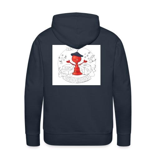 logo2 jpg - Sweat-shirt à capuche Premium pour hommes