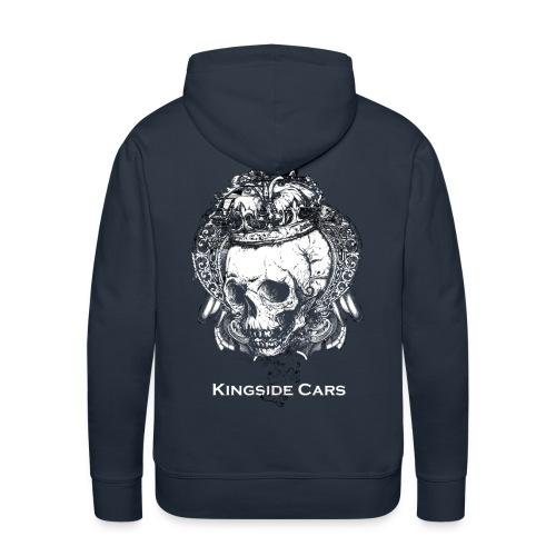 king skull png - Männer Premium Hoodie
