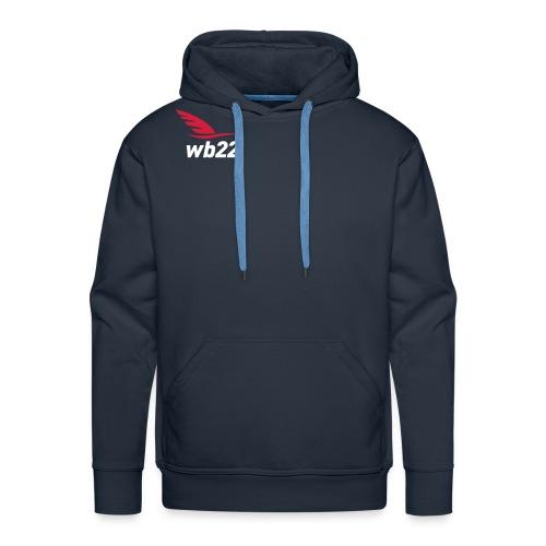 logo_final-gr - Sweat-shirt à capuche Premium pour hommes