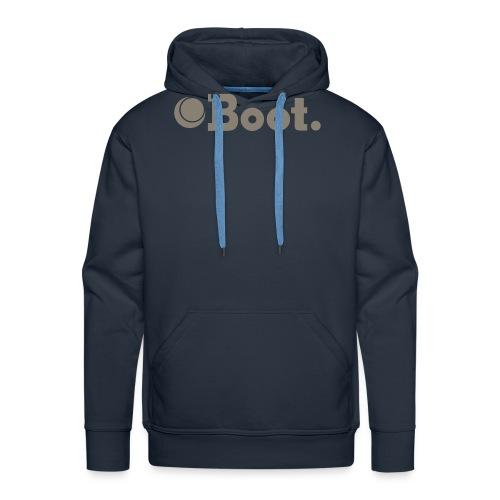 bootlogovector - Men's Premium Hoodie