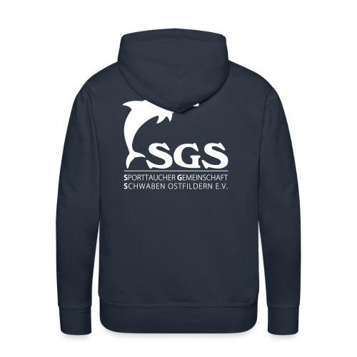 SGS Komplettlogo 2 - Männer Premium Hoodie