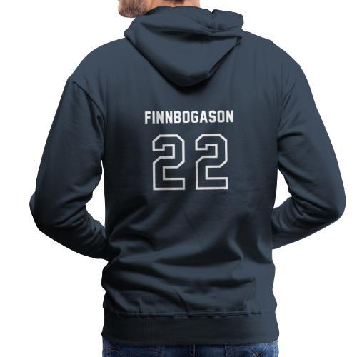 2-2 Finnbogason - Herre Premium hættetrøje