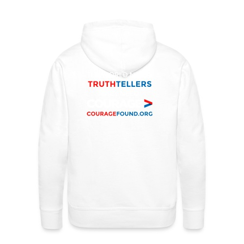 Truthtellers Need Courage - Men's Premium Hoodie