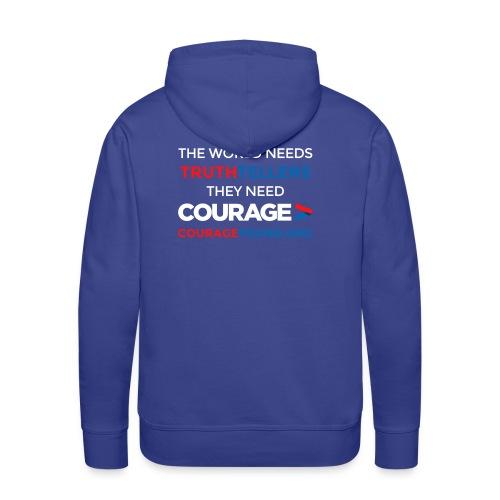 Truthtellers Need Courage - Men's Premium Hoodie