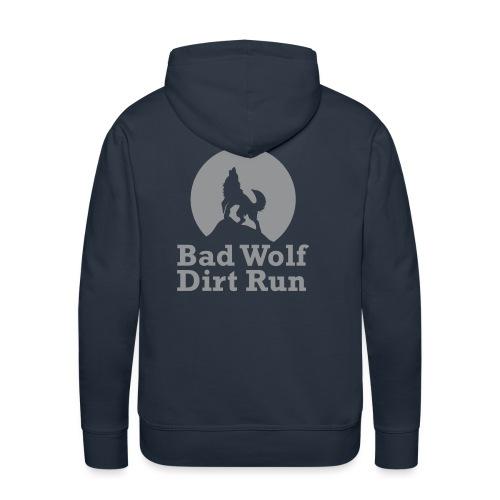 BWDR Logo Grau groß - Männer Premium Hoodie