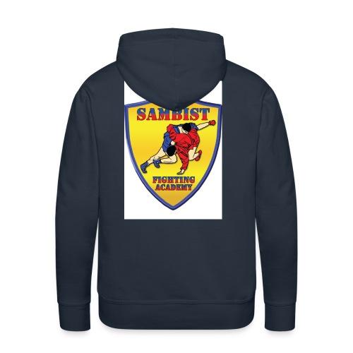 sambist logo jpg - Men's Premium Hoodie