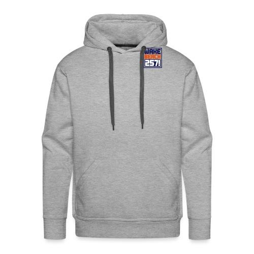 257-Logo-Thin 3c - Männer Premium Hoodie