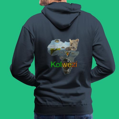 KOLWEZI 2REP - Sweat-shirt à capuche Premium pour hommes