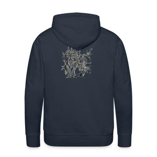 bambou3 GIF - Sweat-shirt à capuche Premium pour hommes
