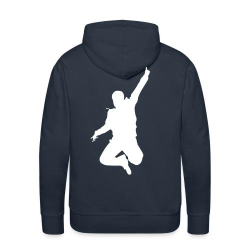 Jumping Man - Männer Premium Hoodie