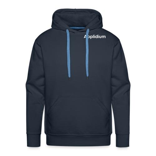 Applidium Text - Sweat-shirt à capuche Premium pour hommes