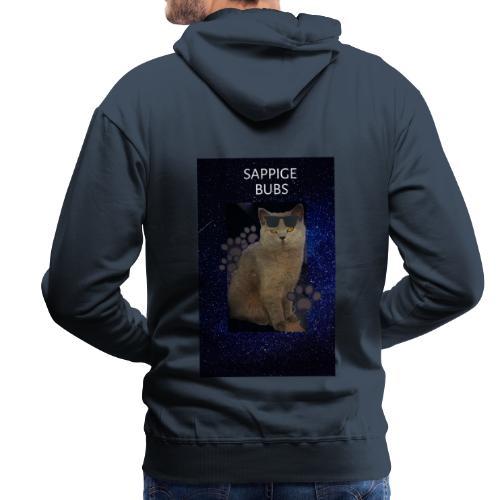 sappige bubs - Mannen Premium hoodie