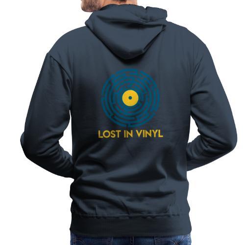 Lost in vinyl - Felpa con cappuccio premium da uomo