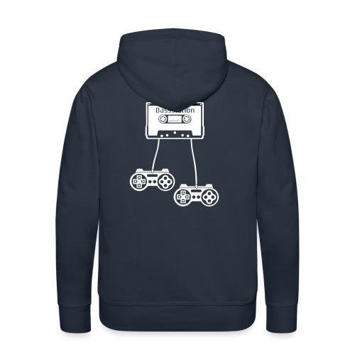Bass station - Sweat-shirt à capuche Premium pour hommes